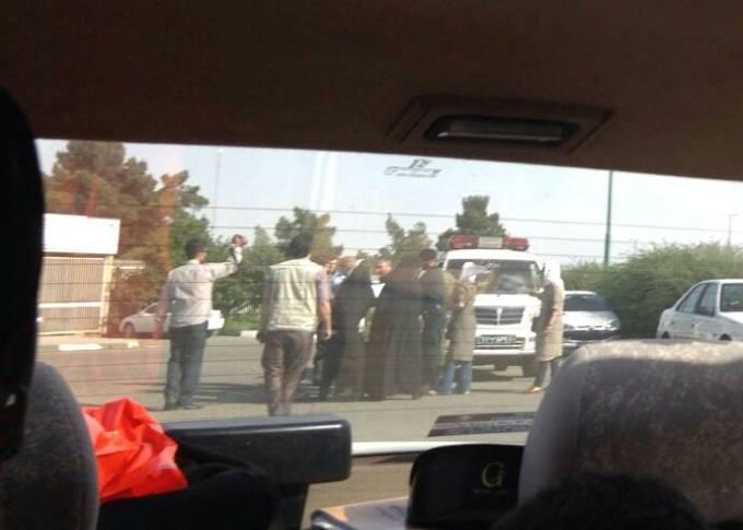 بازداشت تجمع کنندگان