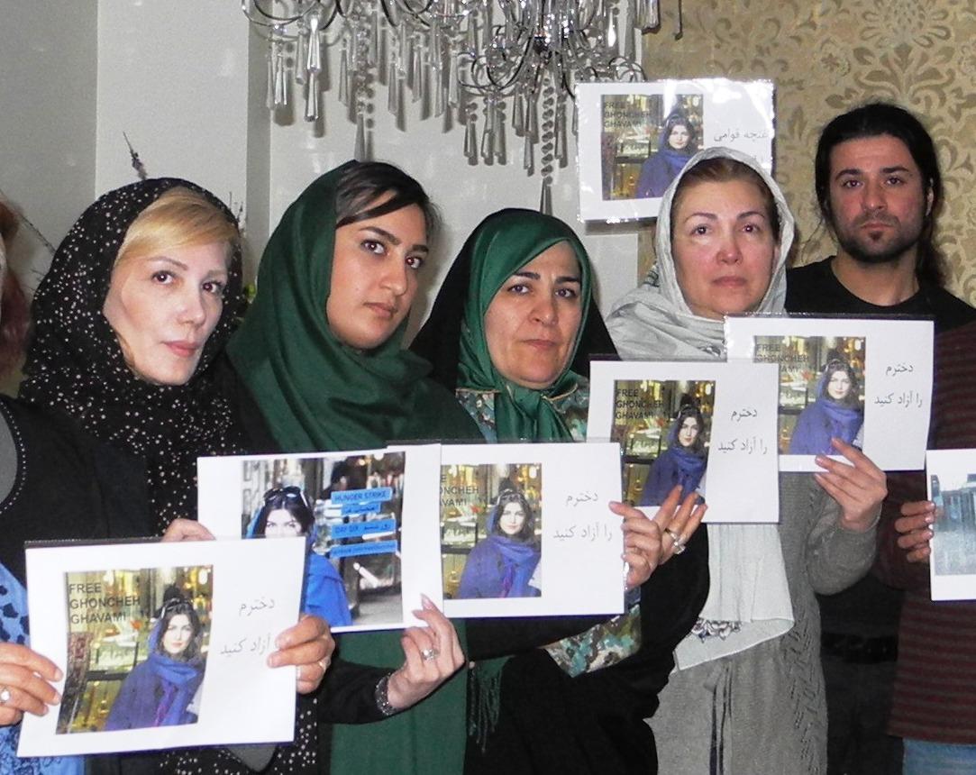 ادامه بازداشت غنچه قوامی غیرقانونی است