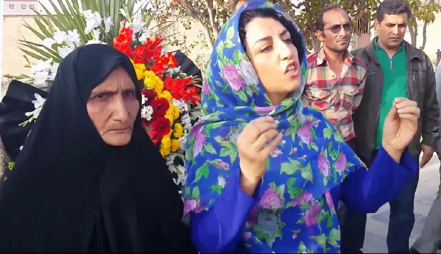 نرگس محمدی مادر بی صدایان