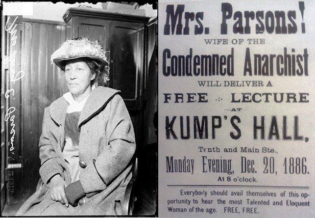 زنان انقلابی دنیا: لوسی پارسونز