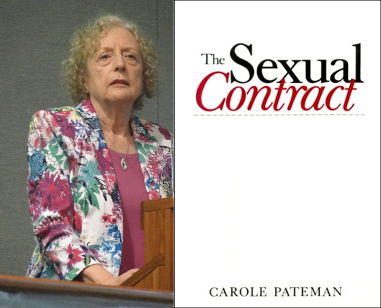 «قرارداد جنسی» اثر کارول پیتمن