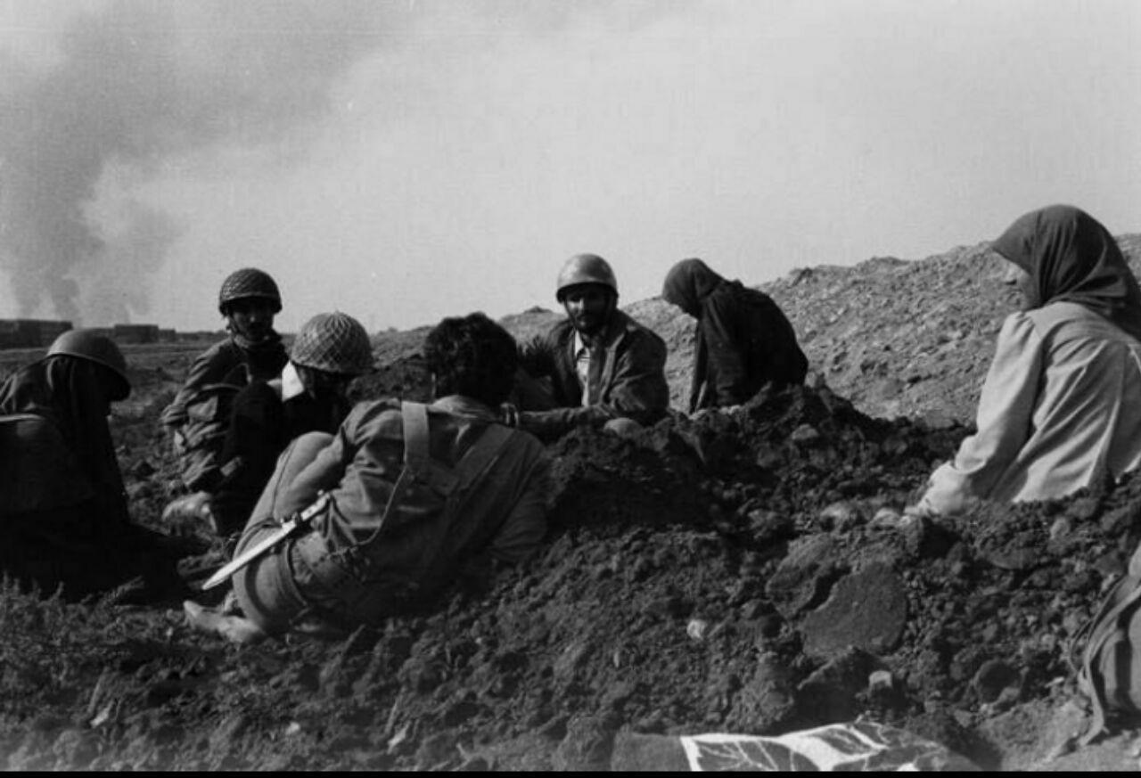 زنان در جنگِ ایران و عراق/ عکس از مهدیه مراد بخش
