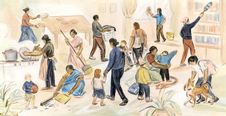 کار خانگی از ابتدا تا امروز