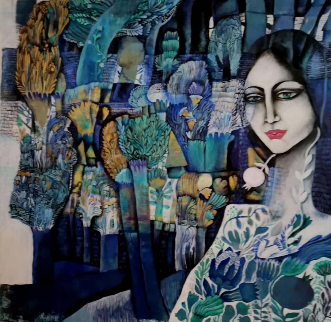 «بدون اینکه خودم بخواهم موضوع تمام نقاشیهام زنها شدهاند»