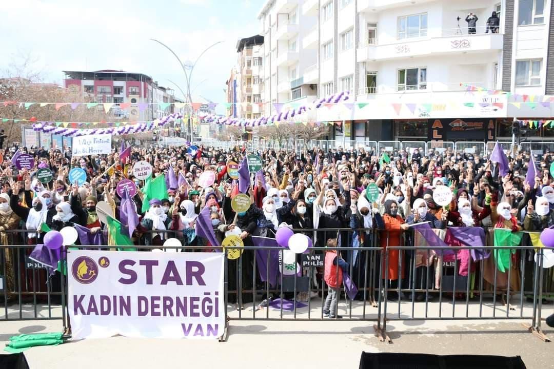 بزرگداشت هشتم مارس ۲۰۲۱ در ترکیه